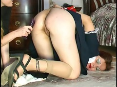maid assfucked with dong