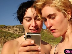 nasty australian lesbo trio