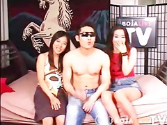 [korea] juvenile korea hard core threesome -
