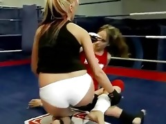 hot european gals in lesbo wrestling