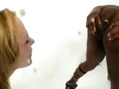 fantastic lesbian babes swallowing milk enema