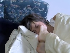 10 cuties sleeping feet in faces