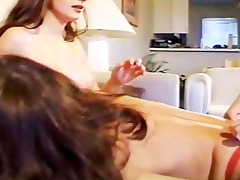 tabithas lesbo masturbation party - scene 0