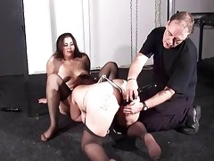 outlandish lesbian sexslaves and harsh insertions