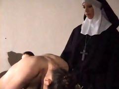 cutie hard spanked by nun