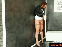 euro bukakke slut grinds gloryhole