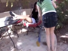 absolute foot humiliation for lesbian villein