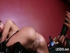 astonishing lesbian muff licking