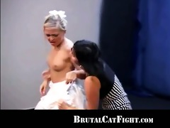 attractive marital officer caused a cat fight