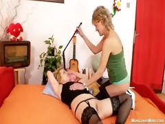 mature mother i lesbo mommys toy every other