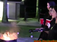 college lesbian amateurs outdoors getting abused