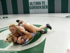 grappler vs hitman in real all girl wrestling