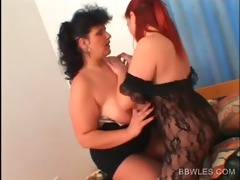 big beautiful woman lesbian in hose receives