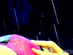 sexy lesbo sex in rain