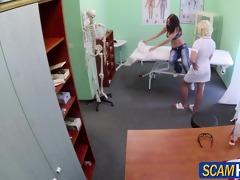 pretty hawt patient gets a hawt massage