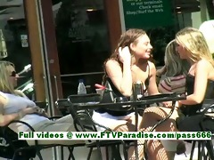 ashely and brianna breathtaking lesbos giving a