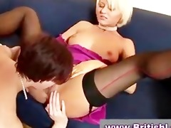 aged lesbian babes in nylons and charming