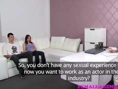 femaleagent angel and the geek auditions for hot