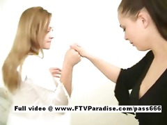 excellent beauties tatiana and samantha lesbo