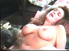 lesbos who love large tits eat muff in front of