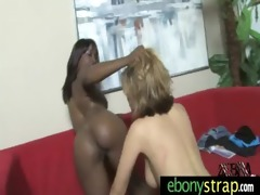 interracial lesbos fuck with a strapon 84