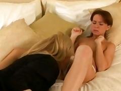 hot lesbo anna pierceson receives likewise hawt