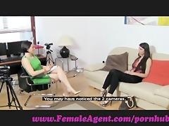 femaleagent. virgin lesbian