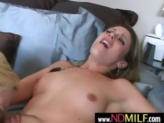 sexy lesbo dilettante milfs toying and licking