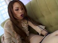japanese lesbos use a double jock