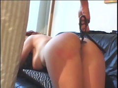 large scoops redhead spanked by a smokin hawt