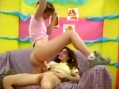 lesbo cheerleaders go at it is all the time