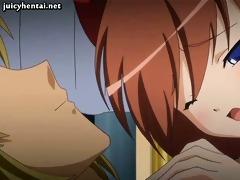 anime receives her tiny cum-hole fucked