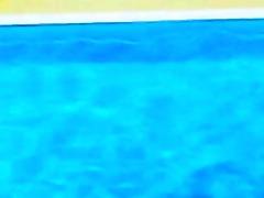naked cuties at the pool