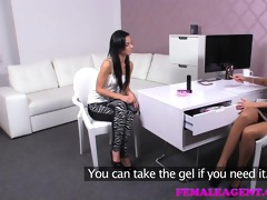 femaleagent. underclothing model discovers a
