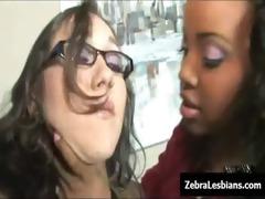 zebra angels - ebon lesbo chicks fuck