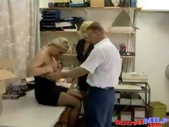 milf with glasses and beauty engulfing jock