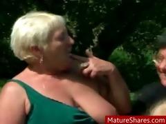 concupiscent lesbo granny fuckfest