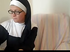 nasty katholic nun on adult cam cha